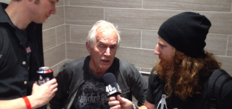 40oz Of Horror - James and Brandon interviewed Lance Henriksen in the shitter