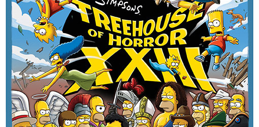 Fox has just released the movie-esque poster for the annual Simpsons: Treehouse of Horror Halloween special. In the Simpsons' 24th season (yes, we are that...