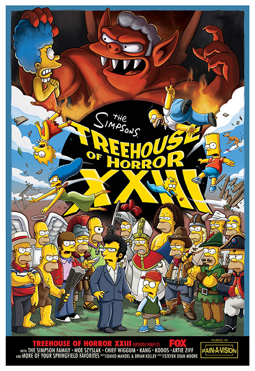SIMPSONS Treehouse of Horror XIII