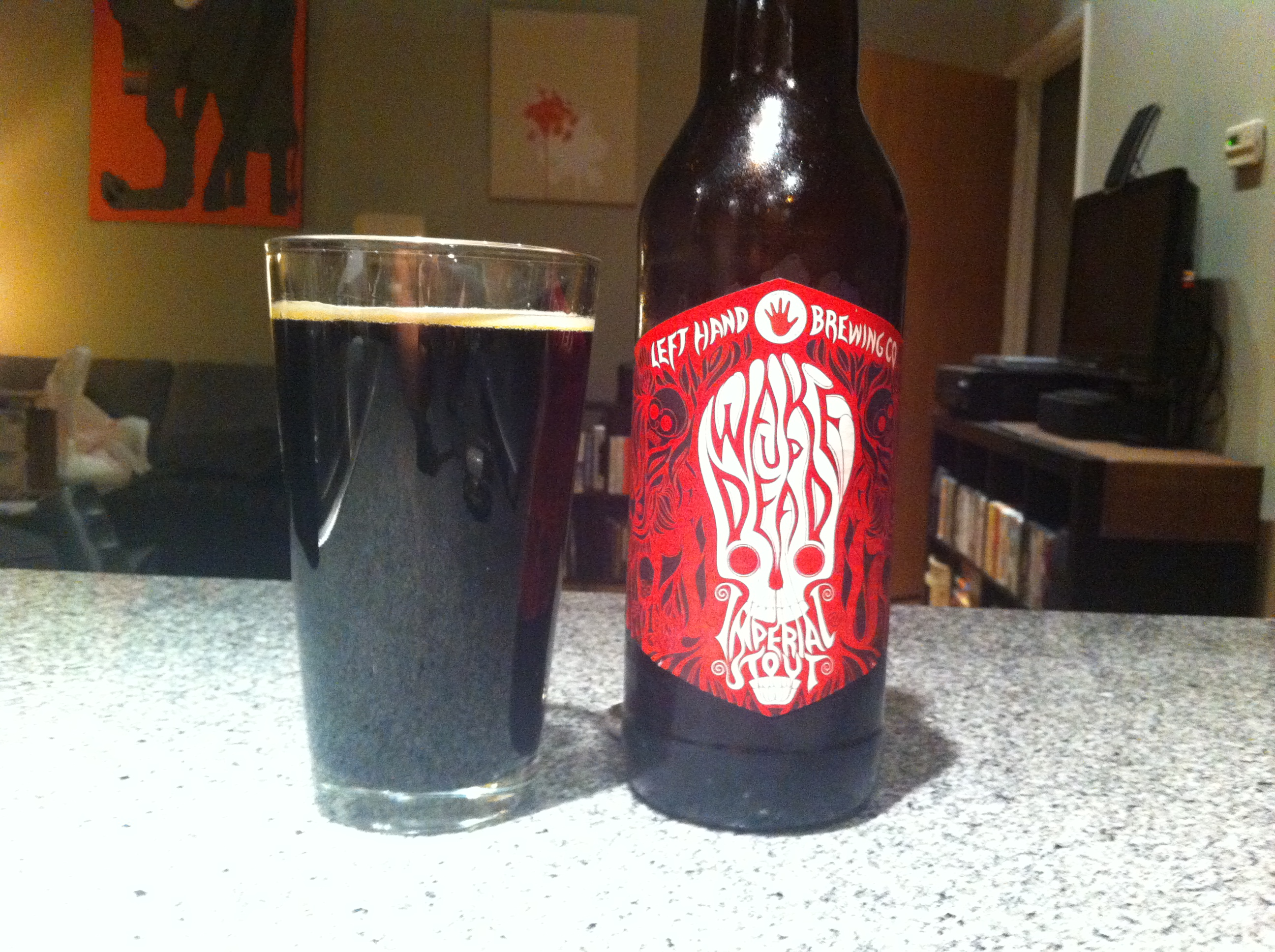 Left Handed Brewing Co. Wake up the Dead