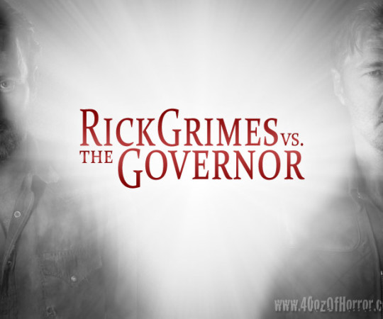 Rick Grimes vs. The Governor