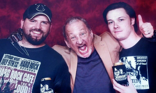 Chad and James with Robert Englund