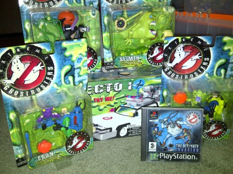 Extreme Ghostbusters Toy Collection