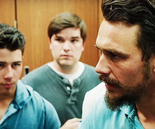 "James Franco & Nick Jonas in ""Goat"""
