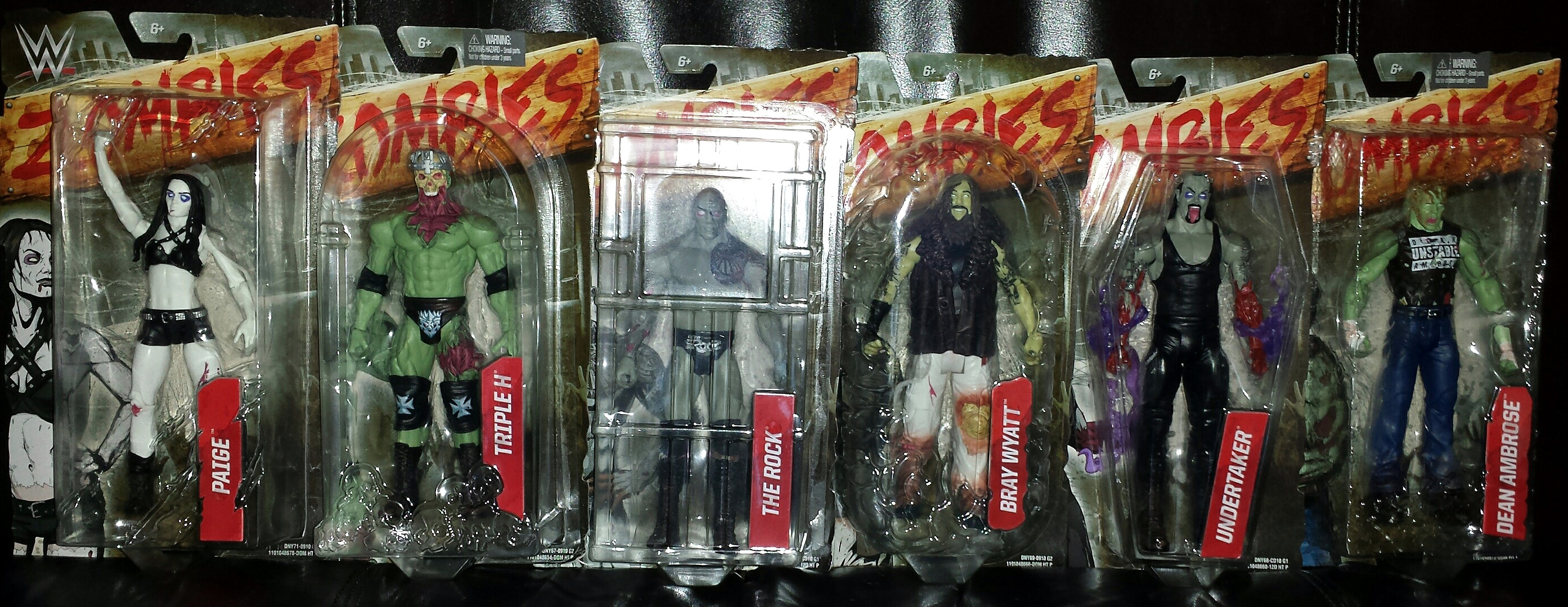 WWE Toys: ZOMBIES