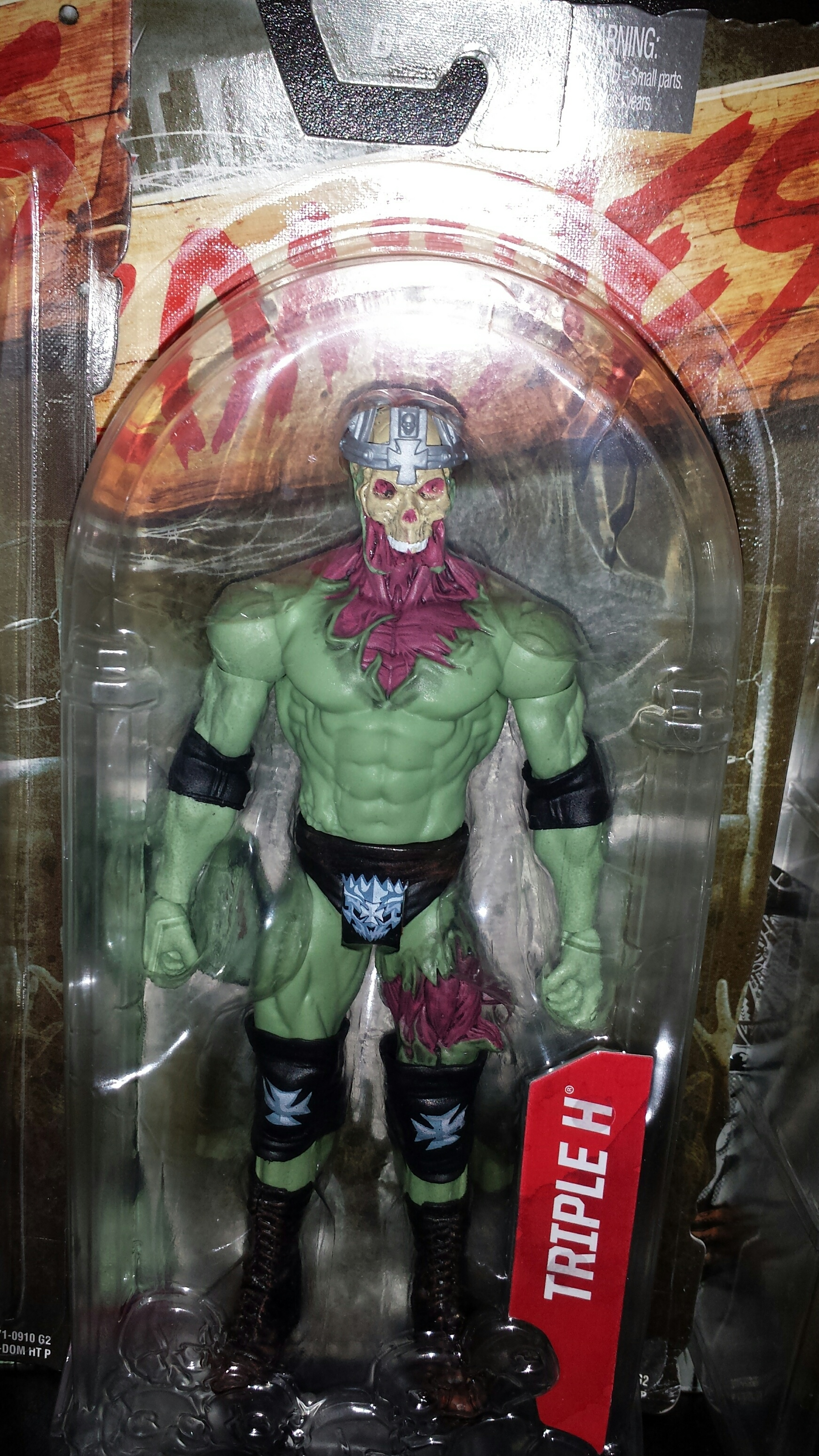 Triple H WWE Zombie Toy