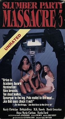 Slumber Party Massacre 3 VHS Cover