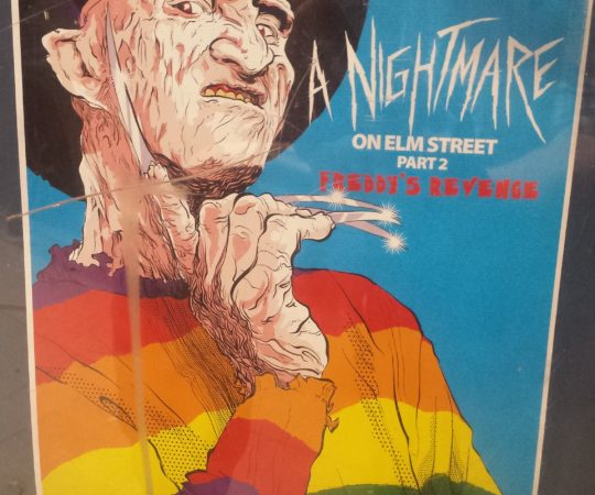A Nightmare on Elm Street 2 Rue Morgue Queer Fear Movie Poster